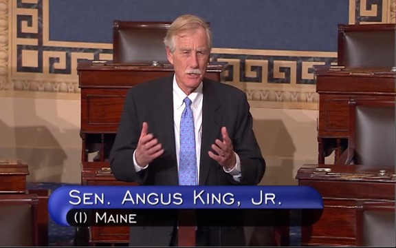 King Highlights Stories of Mainers in Passionate Appeal to Preserve Affordable Care Act